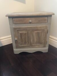 Night table refinished Richmond Hill, L4C