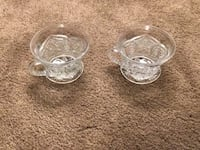 Gorgeous glass cups - immaculate detail  Greensboro, 27455
