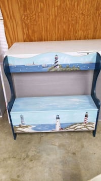 lighthouse bench