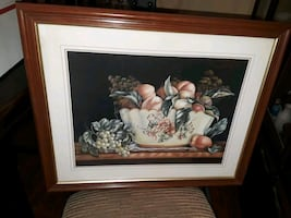 Framed picture Peaches