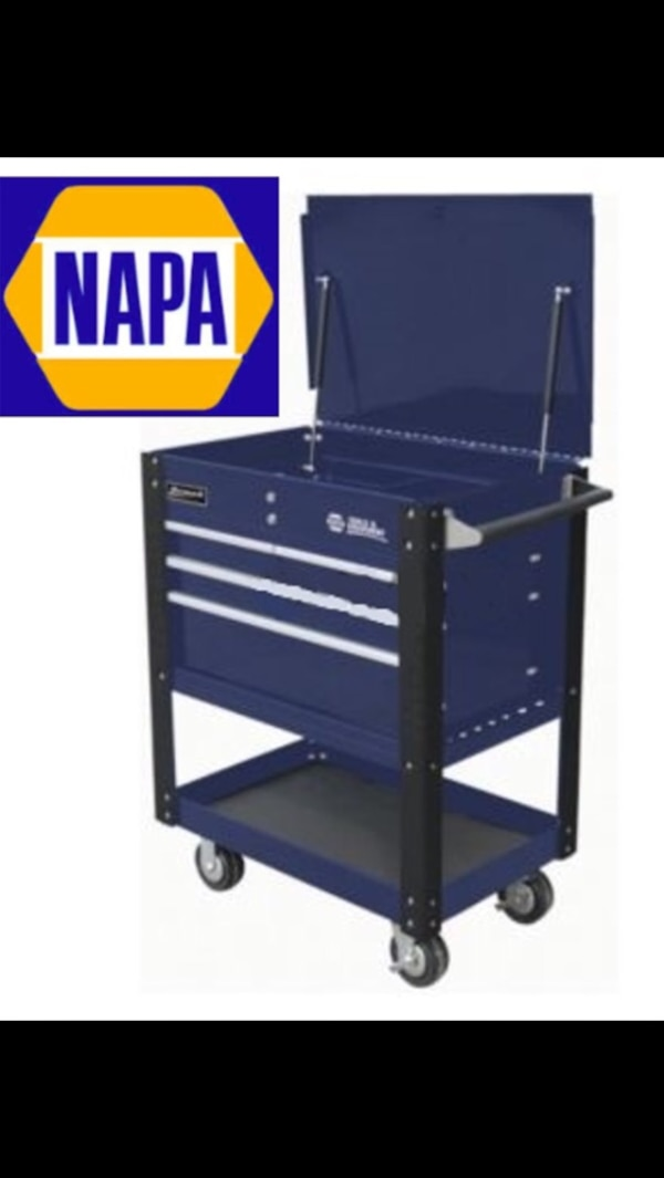 used napa tool cart made by homak for sale in mount airy - letgo
