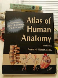 Atlas of human anatomy book and dvd set  Jessup, 20794