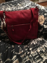 The sak red satchel