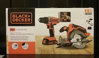 New Black+Decker 20V Drill-Driver & Circular Saw Kit Prattville