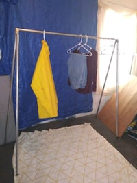 Portable Collapsible Clothes Rack