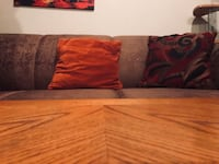 [set of 2] brown living room couches, Great Condition Toronto, M2J 3C3