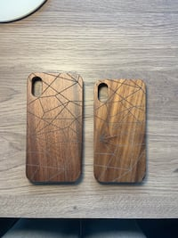Wooden iPhone X or XR Case Victoria, V8S 5C6