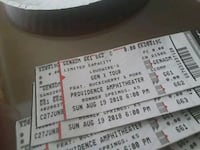 4 Buckcherry and POD tickets $5 for all  Topeka, 66617