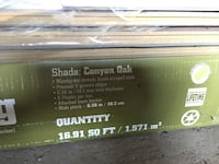 One box of click laminate flooring brand new just opened
