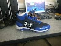blue-and-black Under Armour baseball cleats Lexington, 40505