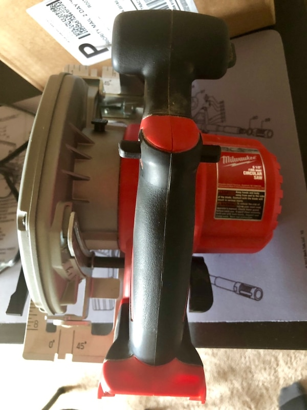 Milwaukee M18 Fuel Circular Saw and Drill (w/ Case) 4f91a643-bd1c-4062-aba6-ee26650bb4f8