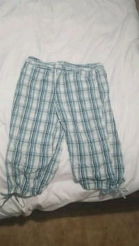 white and gray plaid shorts Woodbridge, 22193