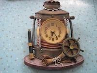 "Vintage Styling Nautical Themed Resin ""3D"" Wall Clock Winnipeg"