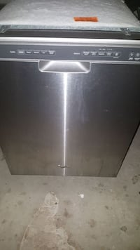 whirlpool stainless steel dishwasher like new