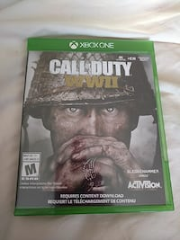Xbox One Call of Duty WW2