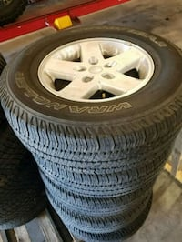 Jeep Wrangler wheels & Tires Ormond Beach, 32174
