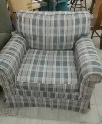 Patterned Easy Chair