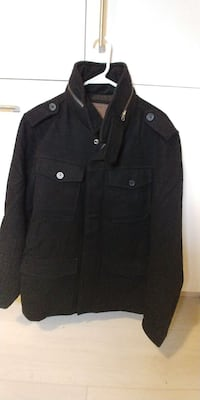 black denim coat Toronto, M5J 0A7