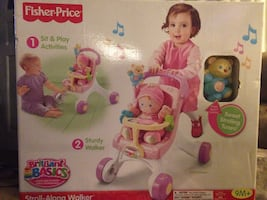 Fisher-price stroll along walker