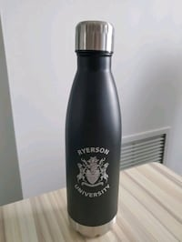 Black Water Bottle with Ryerson Logo