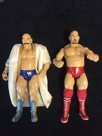 WWF Iron Sheik/ Nikoli Volkoff  New York, 11209