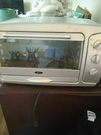 gray toaster oven