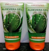 Patanjali aloe vera gel 2x150ml for natural beauty Greater London, IG1 3BH