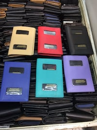passport holder leather $15 new
