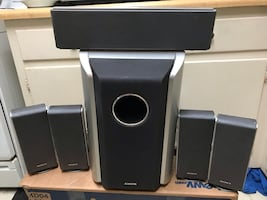 Sony five speakers and subwoofer set