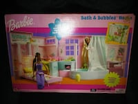 Mattel Barbie Bath & Bubbles 2002