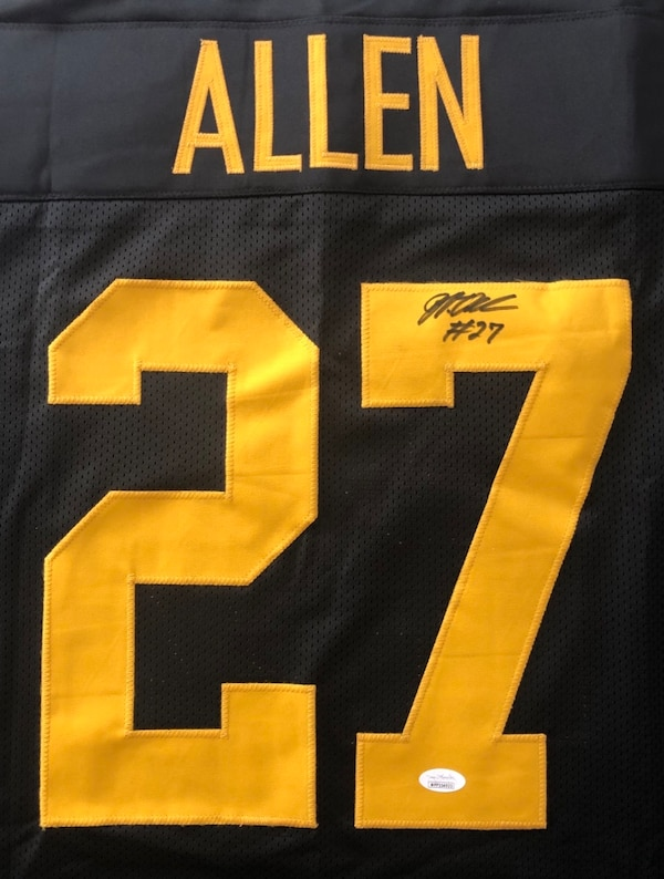 new style 7ea39 cb1e3 Authentic Marcus Allen Signed Pittsburg Steelers Jersey
