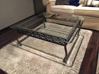 Glass Top Coffee Table  Mississauga, L5N 7N7