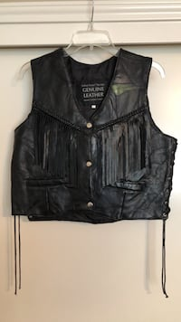 Womens Motorcycle vest size large. Euless, 76039