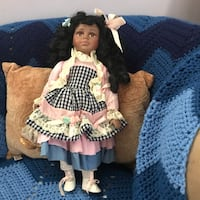 girl doll in black and white dress Rockville, 20853