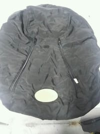 black zip-up baby cozy cover Springfield