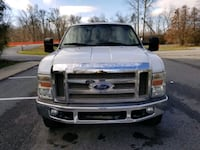 2008 Ford F-350 Super Duty Chassis Cab Lariat 4x4  Silver Spring