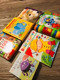 Baby used books & rhyme & discover book 록빌, 20850