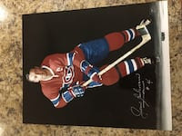 Signed Beliveau  St Catharines, L2N 3A9