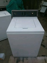 white top-load clothes washer Pacifica, 94044