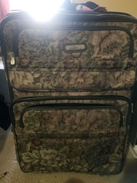 2 large suitcases