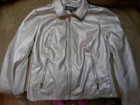 Kenneth Cole Reaction Pink Leather Jacket Sheridan, 80110