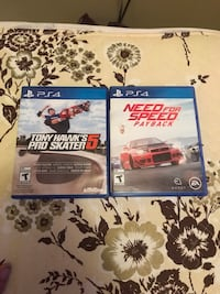 PS4 games for sale or trade  King, L7B 1H5