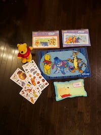 $10 Entire lot of Winnie the Pooh items all for $5