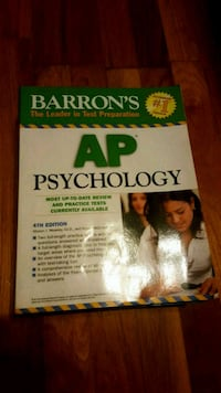 Barron's AP Psychology book East Meadow, 11554