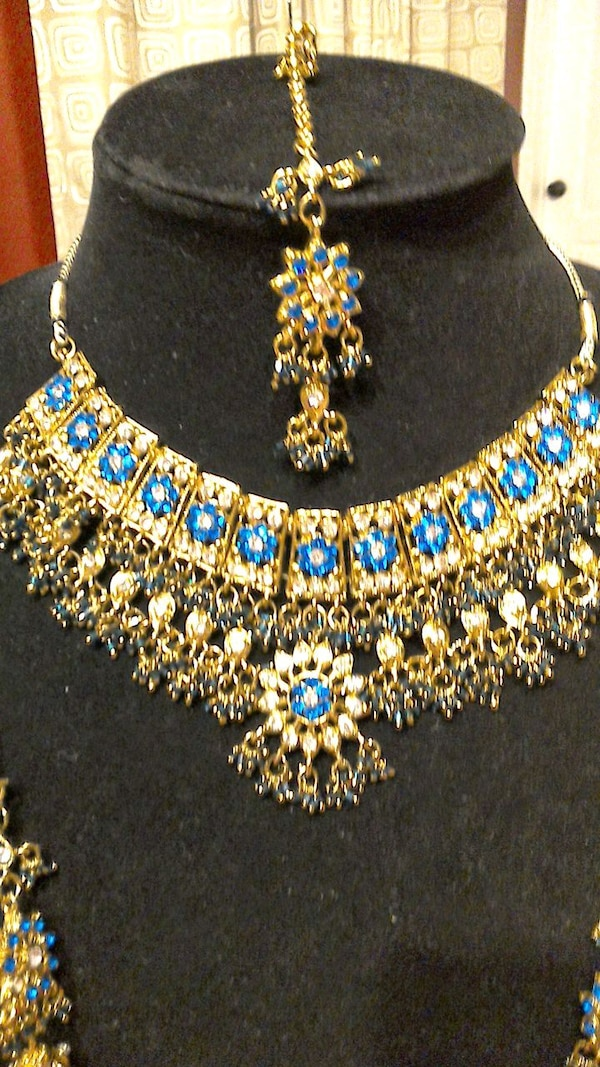 Used Indian Necklace Set New For Sale In Doral Letgo