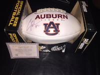 White and blue auburn tigers football package