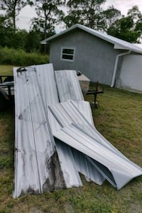 Scrap aluminium roofing today only  Palm City, 34990
