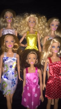 Beautiful group of Barbie Dolls ! West Palm Beach, 33415