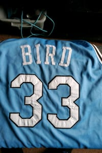 Larry Bird College Jersey