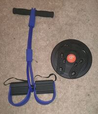 Pilates Rowing Action Exerciser and Twist board Brampton, L7A 0P5